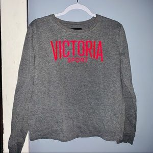 Victoria Sport Crew Neck Long Sleeve Shirt